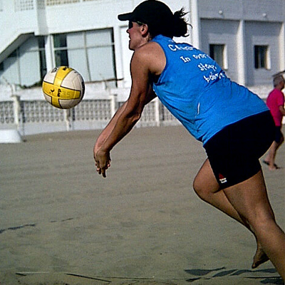 Carolina Marín - Voley Playa