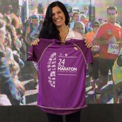Carolina Marín - Media Maratón de Málaga