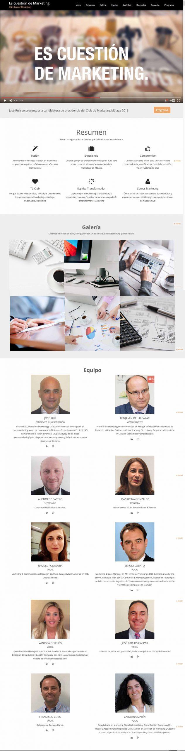 Diseño Web Es Cuestión de Marketing Junta Directiva-a
