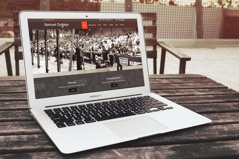 Diseño Web Samuel Gallego