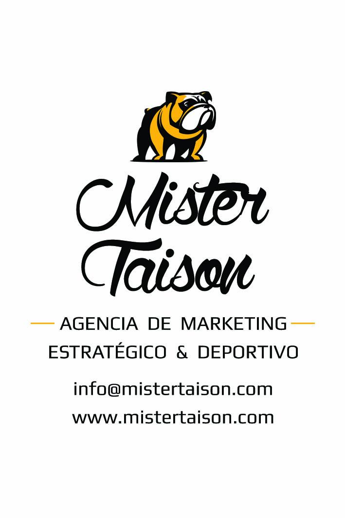 Diseño Tarjetas Mister Taison